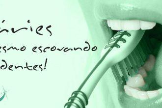 Porque algumas pessoas têm cárie, mesmo escovando os dentes?